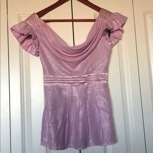 Delicate BeBe lilac blouse